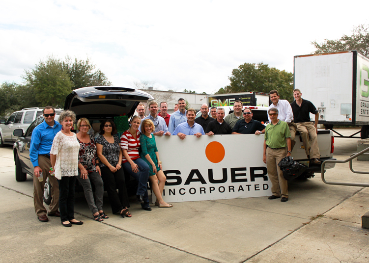 sauer holiday charity drive 2 of 2